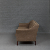 Danish mid-century sofa in wool upholstery-3