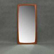 Danish mid century teak mirror-1