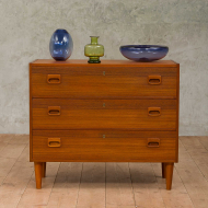 Danish teak chest of drawers from the 70s-1