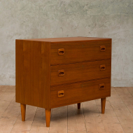 Danish teak chest of drawers from the 70s-3