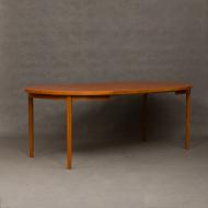 Danish  teak dinning table-13