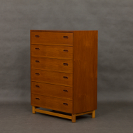 Danish teak dresser with oak base-2