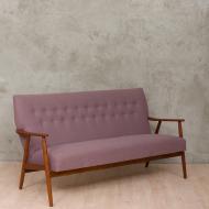 Danish teak sofa-5