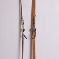 Drewniane narty, Beskidy, Polska, lata 70. kofix (1)