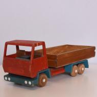 Drewniany samochódzabawka, lata 60 (1)