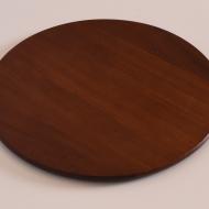 duża płaska taca okrągła tekowa (1)