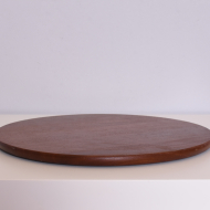 duża płaska taca okrągła tekowa (4)