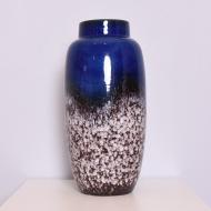 duży 51 cm niebieski wazon  (1)
