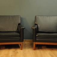 dwa fotele winylowe 6yu