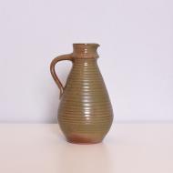 dzban ceramiczny zielonkawy szary bezowy (1)