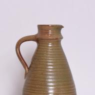 dzban ceramiczny zielonkawy szary bezowy (2)