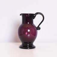 dzban szklany fioletowy (1)