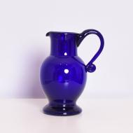 dzban szklany niebieski piękny  (1)