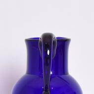 dzban szklany niebieski piękny  (4)