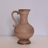 Dzbanek, Stein Keramik, Niemcy, lata 60. beżowy (1)