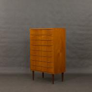 Eight drawers Danish teak dresser-2