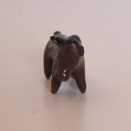 Figurka ceramiczna byk mały, lata 70 (5)