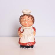 Figurka kucharka, Polska, lata 80 (1)