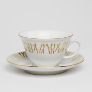 filiżanki złote gałązki espresso (2)