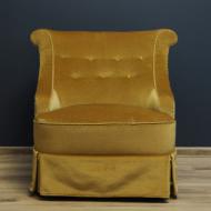 fotel buduarowy w stylu angielskim