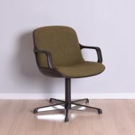 fotel comforto zielony biurowy  (1)