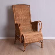fotel wiklinowy z wysokim oparciem  (1)