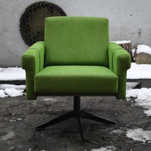 fotel zielony