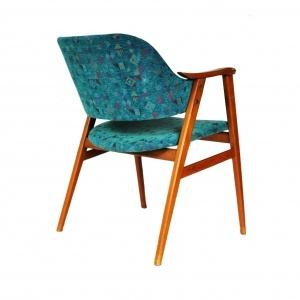 fotel zielony dunski 1