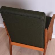 fotel zielony tekowy wysoki (5)