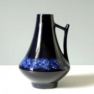 granatowy wazon