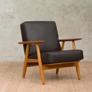 Hans Wegner cigar chair model GE-249 for Getama-1