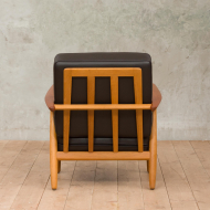 Hans Wegner cigar chair model GE-249 for Getama-4