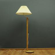harmonijkowy klosz lampa podlogowa