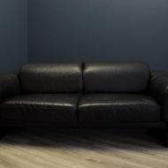 humell sofa skora naturalna czarna  a