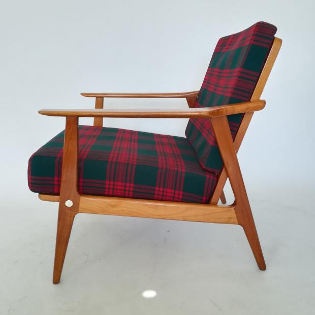 Fotel W Kratę Lata 60