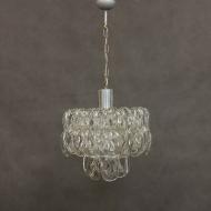Italian chandelier w. handmade murano glass ribbons-1