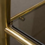 Italian mid century brass cart-10
