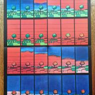JanSawka Ingerencja w świadomość 1975 41x55