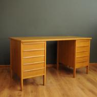 jesionowe biurko z szufladami  1yy — kopia