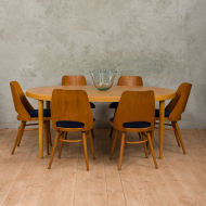 Kai kristiansen oak extension table-11