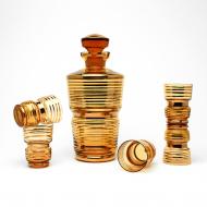karafka art deco złota (1)