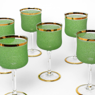 kieliszki z zieloną posypką (5)