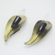 Kinkiet tulip black_1