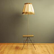 klasyk PRL lampa podlogowa