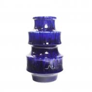 kobaltowy wazon fatlawa