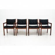 komplet-czterech-foteli-dania-lata-60