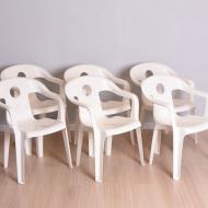 Komplet sześciu krzeseł ogrodowych, Kettler Rumba, Niemcy, lata 60 (10)