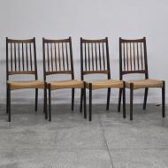 krzesła duńskie plecione tekowe (1)