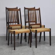 krzesła duńskie plecione tekowe (4)