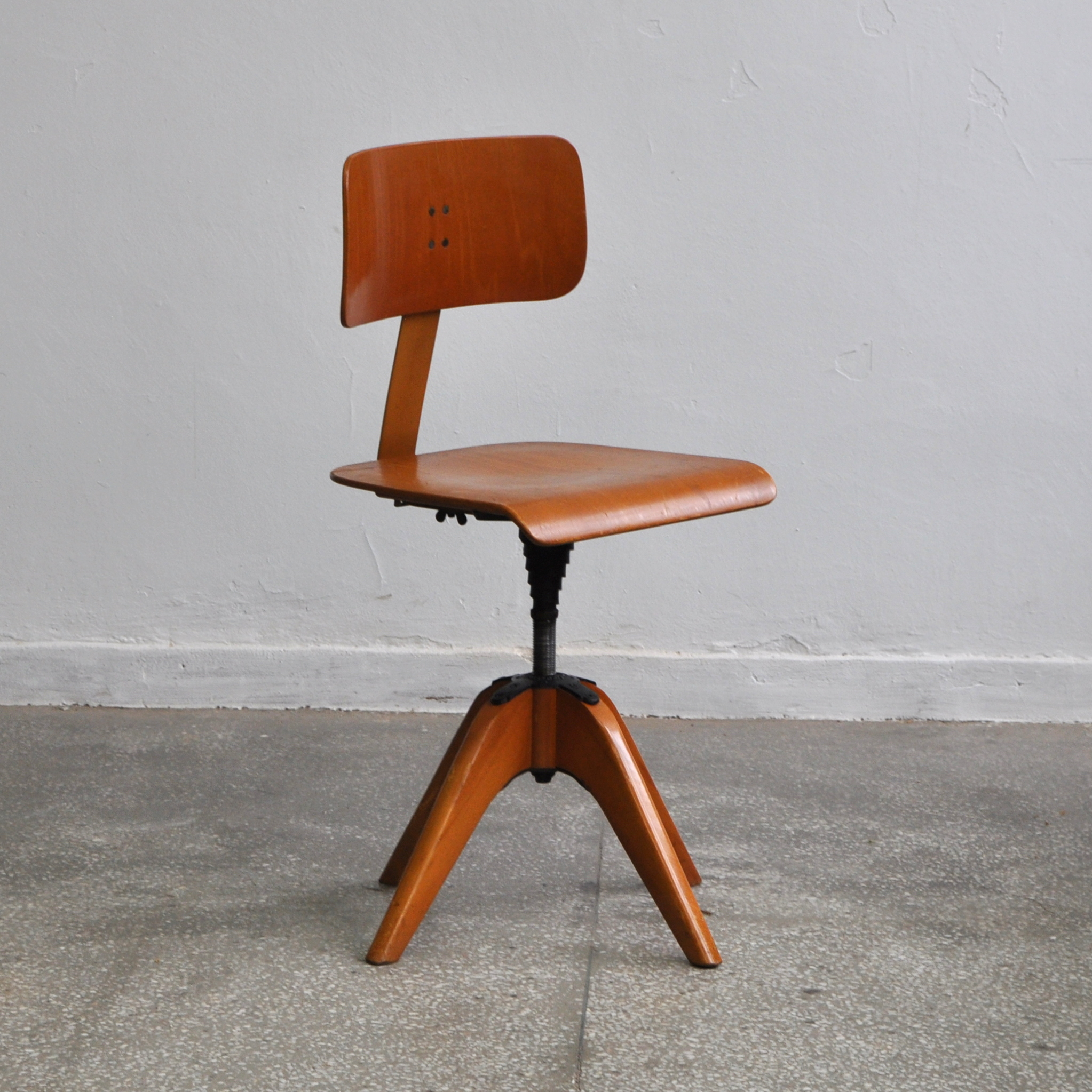 Krzesło architekta Bombenstabil, Niemcy, lata 40. | Patyna.pl